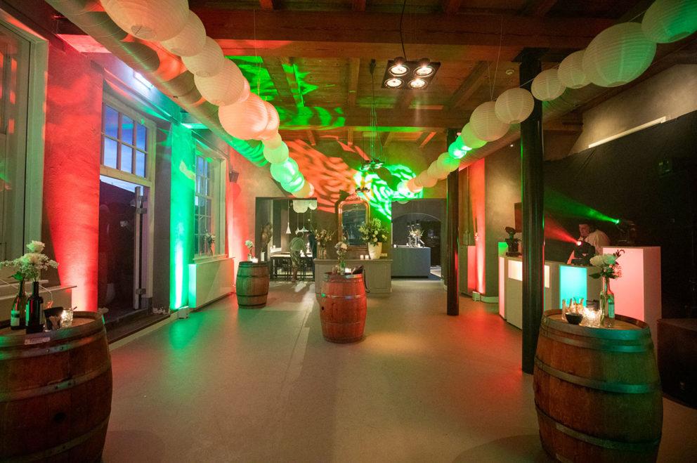 bedrijfsfeest in woerden kasteel personeelsfeest huwelijksfeest gezellig centraal gelegen utrecht regio amsterdam slotgracht gratis parkeren