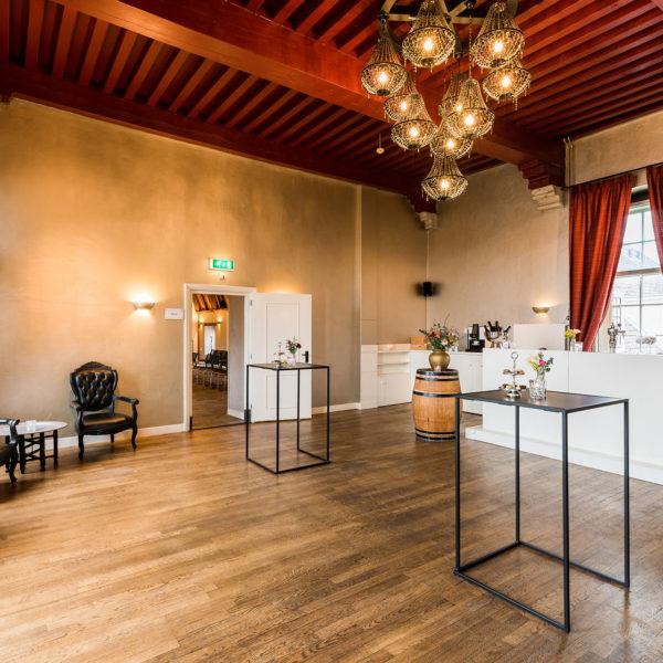 van Montfoortzaal voor borrels, recepties zowel zakelijk als particulier