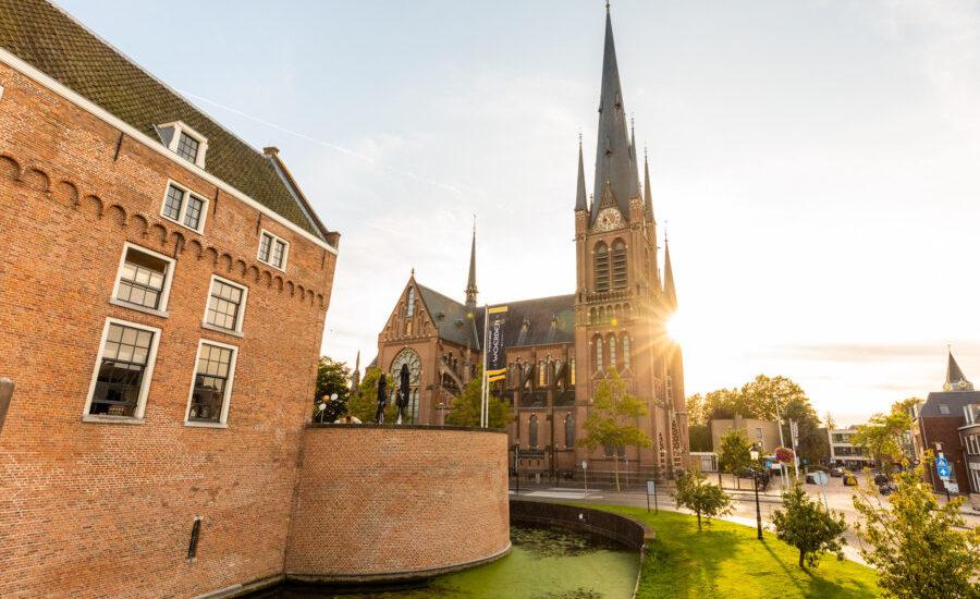 kerkelijke inzegening trouwen kasteel woerden regio Utrecht en rotterdam huwelijk groene hart van nederland alle op 1 locatie groen buiten trouwen binnen feesten