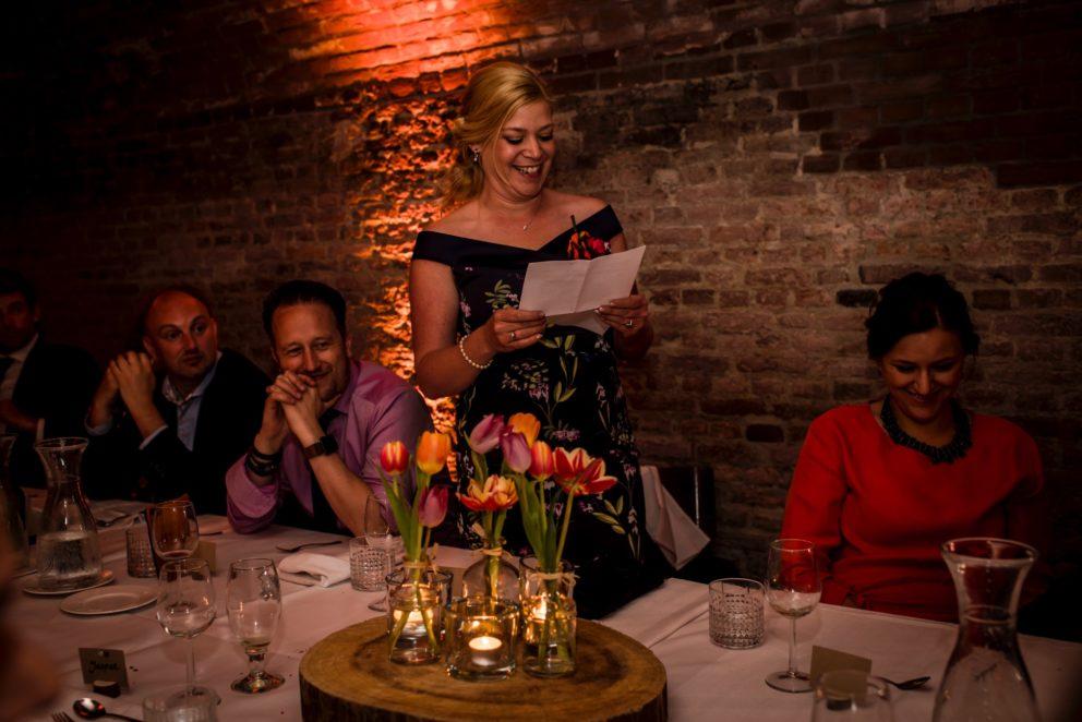 gewelven diner shared dinner speech regio utrecht trouwlocatie feestlocatie feestelijk diner