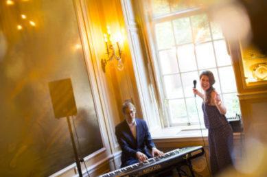 Fleur en Sander Live muziek duo ceremonie of feest