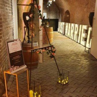 Kasteel Woerden decoratie weddingplanner thema kleuren partner Blush and colours